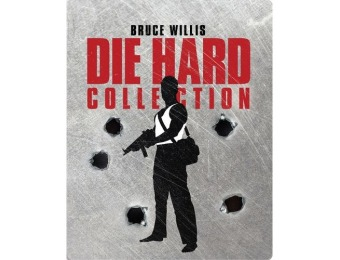 44% off Die Hard Collection [SteelBook] Blu-ray