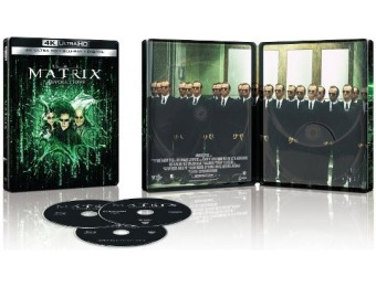 61% off The Matrix Revolutions [SteelBook] 4K Ultra HD Blu-ray