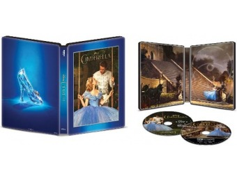 $5 off Cinderella [SteelBook] 4K Ultra HD Blu-ray