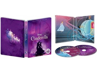 $5 off Cinderella [SteelBook] Blu-ray/DVD