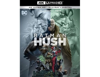 33% off Batman: Hush (4K Ultra HD Blu-ray/Blu-ray)