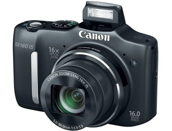 $120 off Canon PowerShot SX160 IS 16MP Digital Camera