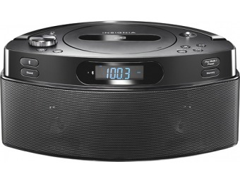 67% off Insignia CD Boombox with AM/FM Radio