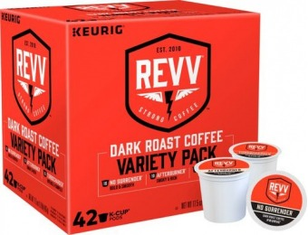 31% off REVV Coffee Variety Pack K-Cup Pods (42-Pack)