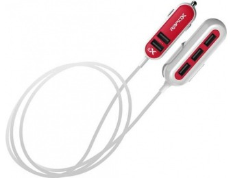 40% off RapidX 5' Vehicle Charger - Red