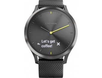 $60 off Garmin vívomove HR Sport Hybrid Smartwatch