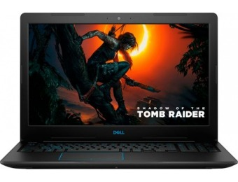 "$212 off Dell G3 15.6"" Gaming Laptop - GeForce GTX 1050 Ti"