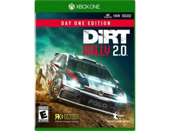 58% off DiRT Rally 2.0 Day One Edition - Xbox One