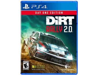 58% off DiRT Rally 2.0 Day One Edition - PlayStation 4