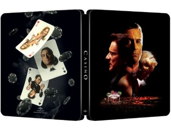 36% off Casino [SteelBook] 4K Ultra HD Blu-ray