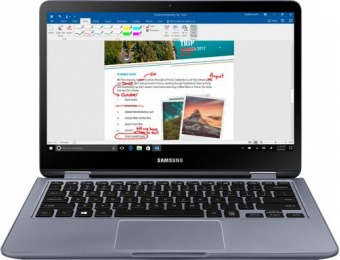 "$250 off Samsung Notebook 7 Spin 2-in-1 13.3"" Touch-Screen Laptop"