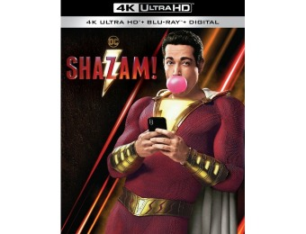 33% off Shazam! (4K Ultra HD Blu-ray/Blu-ray)