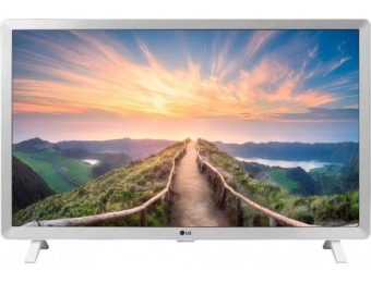 "$40 off LG 24LM520S-WU 24"" LED 720p Smart HDTV"