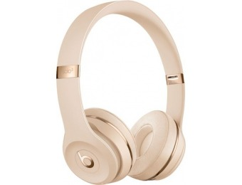 $170 off Beats by Dr. Dre Solo³ Wireless Headphones - Satin Gold