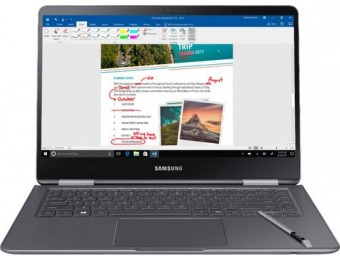 "$450 off Samsung Notebook 9 Pro 15"" Touch-Screen Laptop"