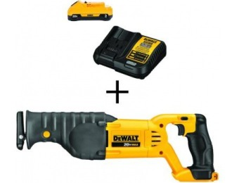 $109 off DeWalt 20V MAX Lithium-Ion Cordless Reciprocating Saw