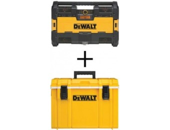$39 off DeWalt ToughSystem Radio and ToughSystem Cooler Combo