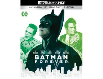 46% off Batman Forever (4K Ultra HD Blu-ray/Blu-ray)
