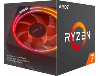 $175 off AMD Ryzen 7 2700X Octa-Core 3.7 GHz Desktop Processor