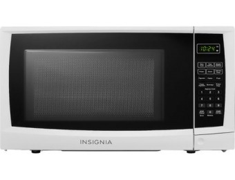 43% off Insignia 0.7 Cu. Ft. Compact Microwave - White