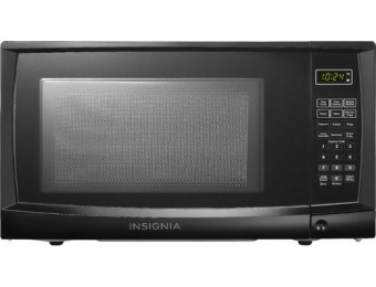 $30 off Insignia 0.7 Cu. Ft. Compact Microwave - Black