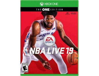 87% off NBA LIVE 19 The One Edition - Xbox One