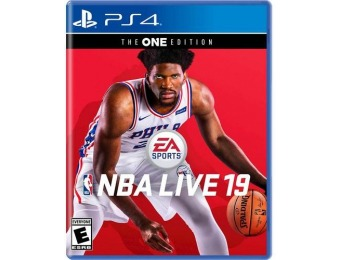 87% off NBA LIVE 19 The One Edition - PlayStation 4