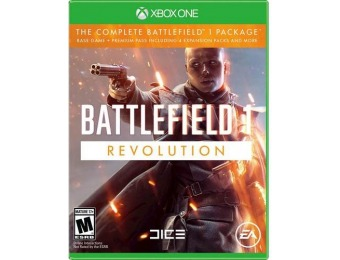 87% off Battlefield 1 Revolution - Xbox One