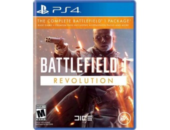 87% off Battlefield 1 Revolution - PlayStation 4
