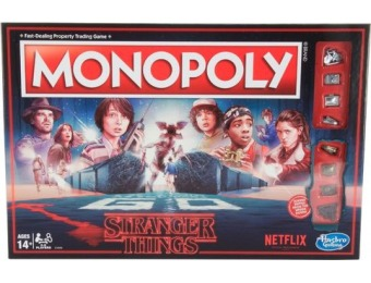 40% off Monoply Stranger Things Edition Board Game