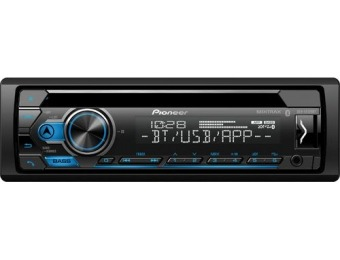 50% off Pioneer In-Dash Bluetooth CD/DM Receiver