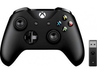 $30 off Microsoft Xbox Wireless Controller + Windows 10 Adapter