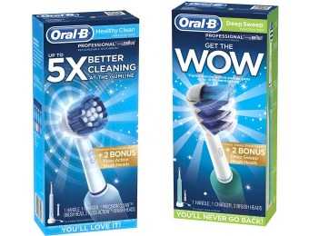 79% off Oral-B Professional Electric Rechargeable Toothbrush