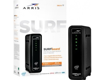 $20 off ARRIS SURFboard AC1600 Router 16x4 DOCSIS 3.0 Cable Modem