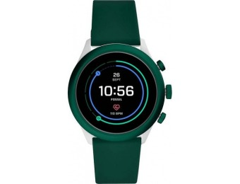 $126 off Fossil Sport Smartwatch 43mm Aluminum - Dark Green