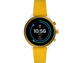$176 off Fossil Sport Smartwatch 41mm Aluminum - Yellow