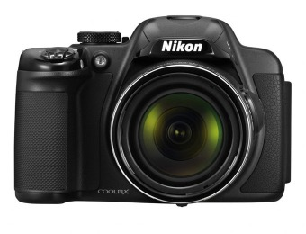 $153 off Nikon Coolpix P520 18-MP Digital Camera (black or Red)