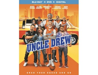 65% off Uncle Drew (Blu-ray/DVD)