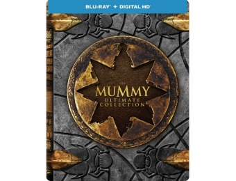$10 off The Mummy: Ultimate Collection [SteelBook] (Blu-ray)