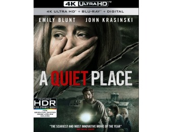 40% off A Quiet Place (4K Ultra HD Blu-ray/Blu-ray)