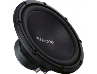 "70% off Kenwood Road Series 12"" Single-Voice-Coil 4-Ohm Subwoofer"