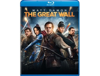 50% off The Great Wall (Blu-ray)