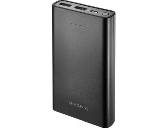 56% off Insignia 15,000 mAh Portable USB Charger