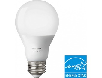 33% off Philips Hue White A19 Smart LED Bulb