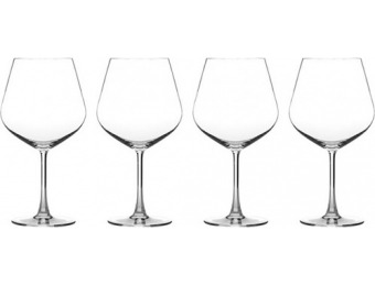 51% off Cuisinart Classic Collection Burgundy Wine Glass (4-Pack)
