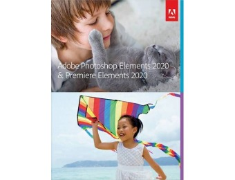 $60 off Adobe Photoshop & Premiere Elements 2020 - Mac|Windows
