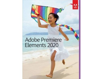 $40 off Adobe Premiere Elements 2020 - Mac|Windows
