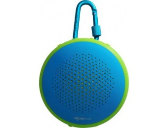 $20 off Boompods Fusion Portable Bluetooth Speaker - Blue Green