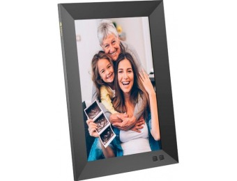 "$63 off Nixplay 10.1"" Widescreen LCD Wi-Fi Digital Photo Frame"