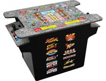 $100 off Arcade1Up Deluxe 12-in-1 Head to Head Cocktail Table